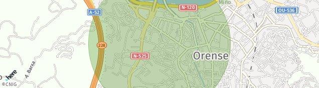 Mapa Estrada de Reza