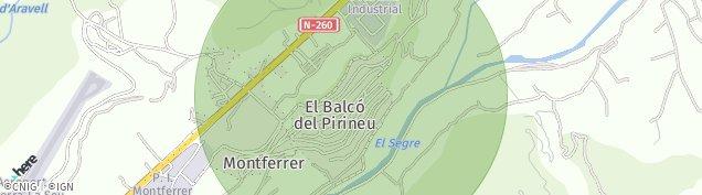 Mapa Montferrer