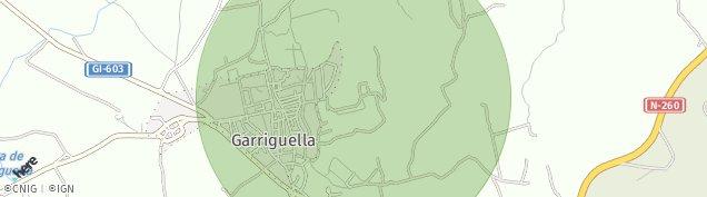 Mapa Garriguella