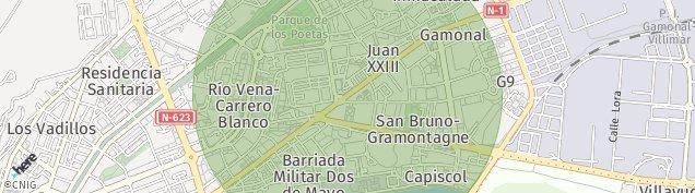 Mapa Burgos