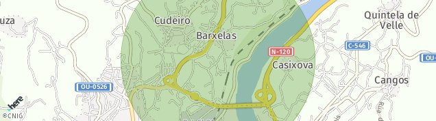 Mapa Cudeiro