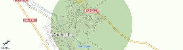 Mapa Andosilla