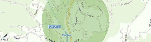 Mapa Gomariz