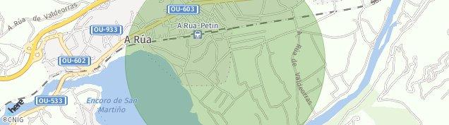 Mapa Petín