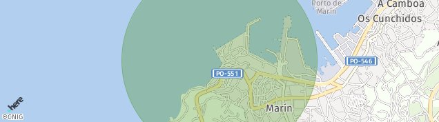 Mapa Marín