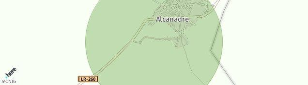 Mapa Alcanadre