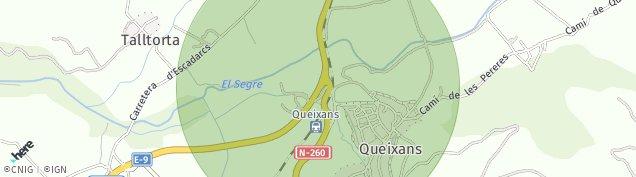 Mapa Queixans