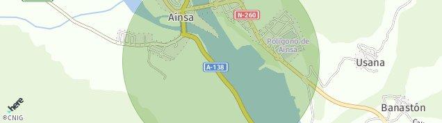 Mapa Ainsa