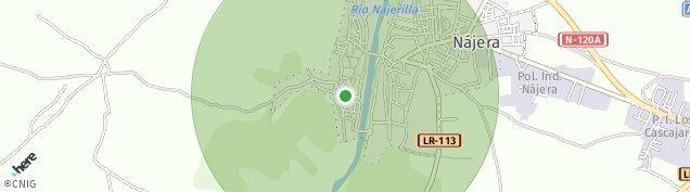 Mapa Nájera