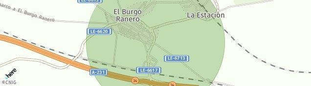 Mapa El Burgo Ranero