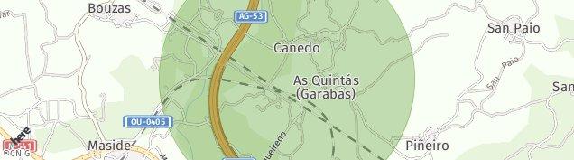 Mapa Maside