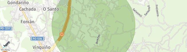 Mapa Adina