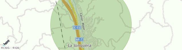 Mapa La Jonquera