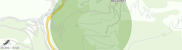 Mapa La Farga de Moles