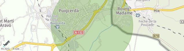 Mapa Puigcerda