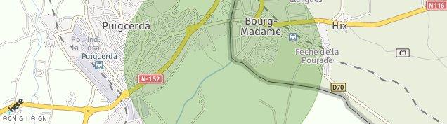 Carte de Bourg-Madame