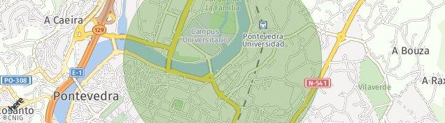 Mapa Pontevedra