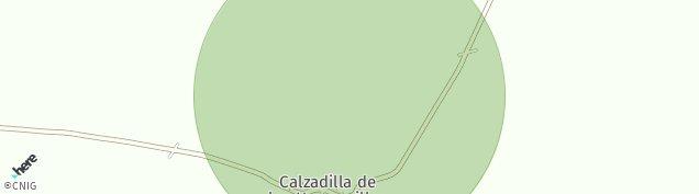 Mapa Calzadilla de Los Hermanillos