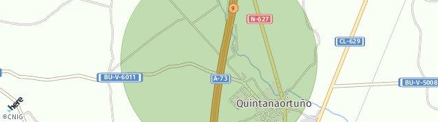 Mapa Quintanaortuño