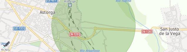Mapa Astorga