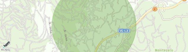 Mapa Poio