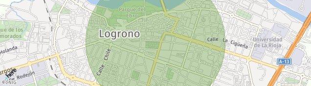 Carte de Logroño