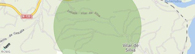 Mapa Vilardesilva
