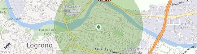 Mapa Logroño