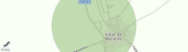 Mapa Villar de Mazarife