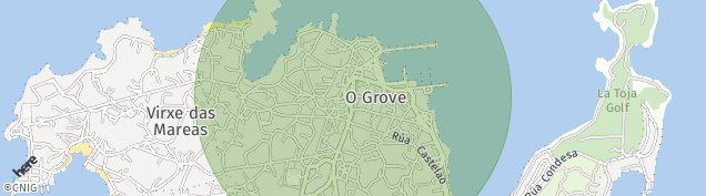 Mapa O Grove