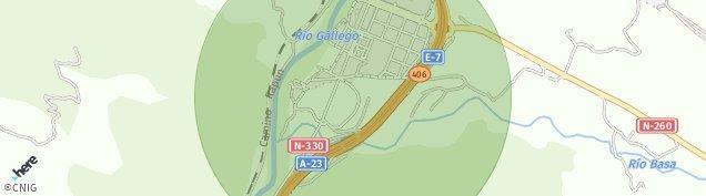Mapa Pueblo Sabiñanigo