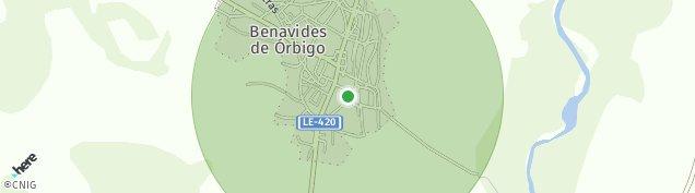 Mapa Benavides de Órbigo