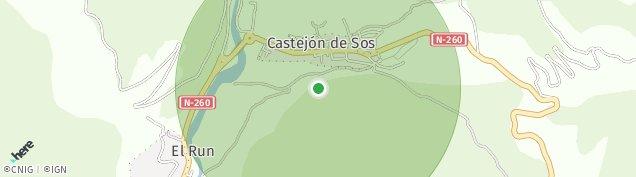 Mapa Castejón de Sos
