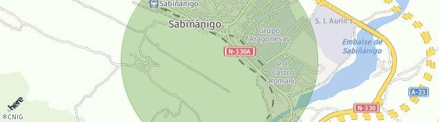 Mapa Sabiñánigo