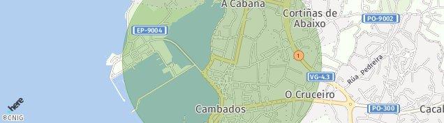 Mapa Cambados