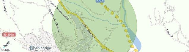 Mapa Aurin