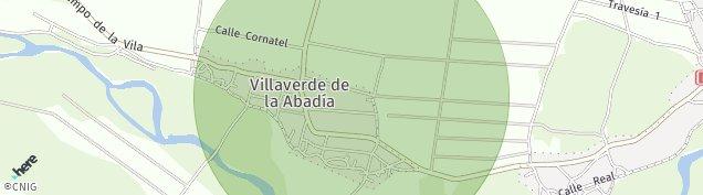Mapa Villaverde de La Abadia