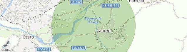 Mapa Otero de León