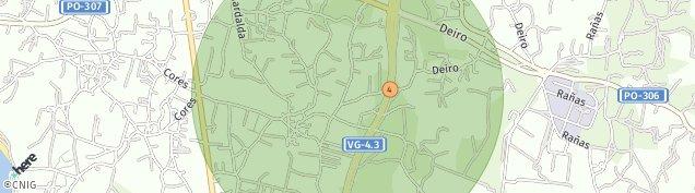 Mapa San Roque do Monte