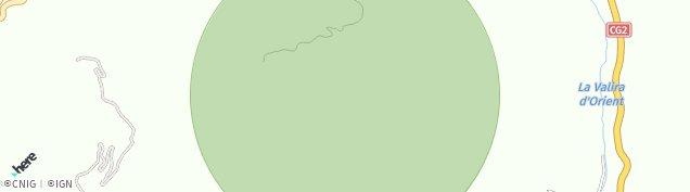 Map of Ordino