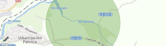 Mapa Molinaseca