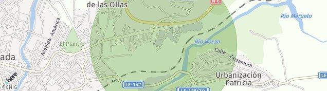Mapa Santo Tomas de Las Ollas