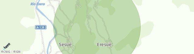 Mapa Sesué
