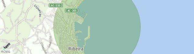 Mapa Ribeira