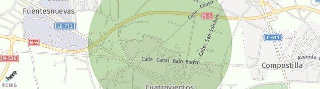 Mapa Cuatrovientos