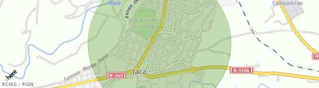 Mapa Jaca
