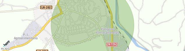 Mapa Haro