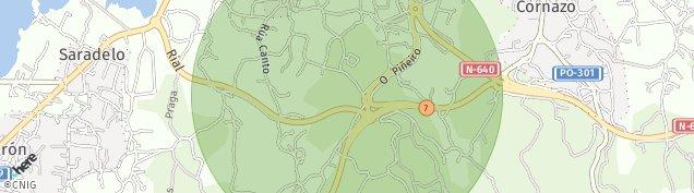 Mapa Fontecarmoa