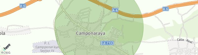 Mapa Camponaraya