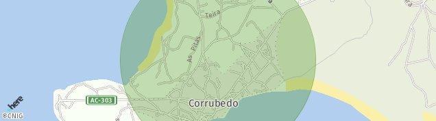 Mapa Corrubedo